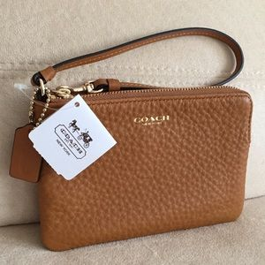 Coach Wristlet, with Tag and Coach Box